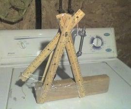 Build a trebuchet in five minutes
