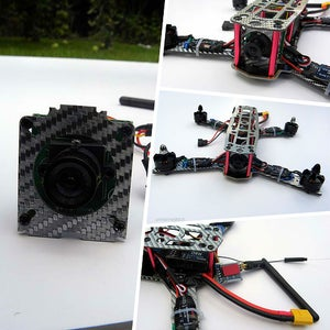 Installing the Top Plate and Your FPV Gear