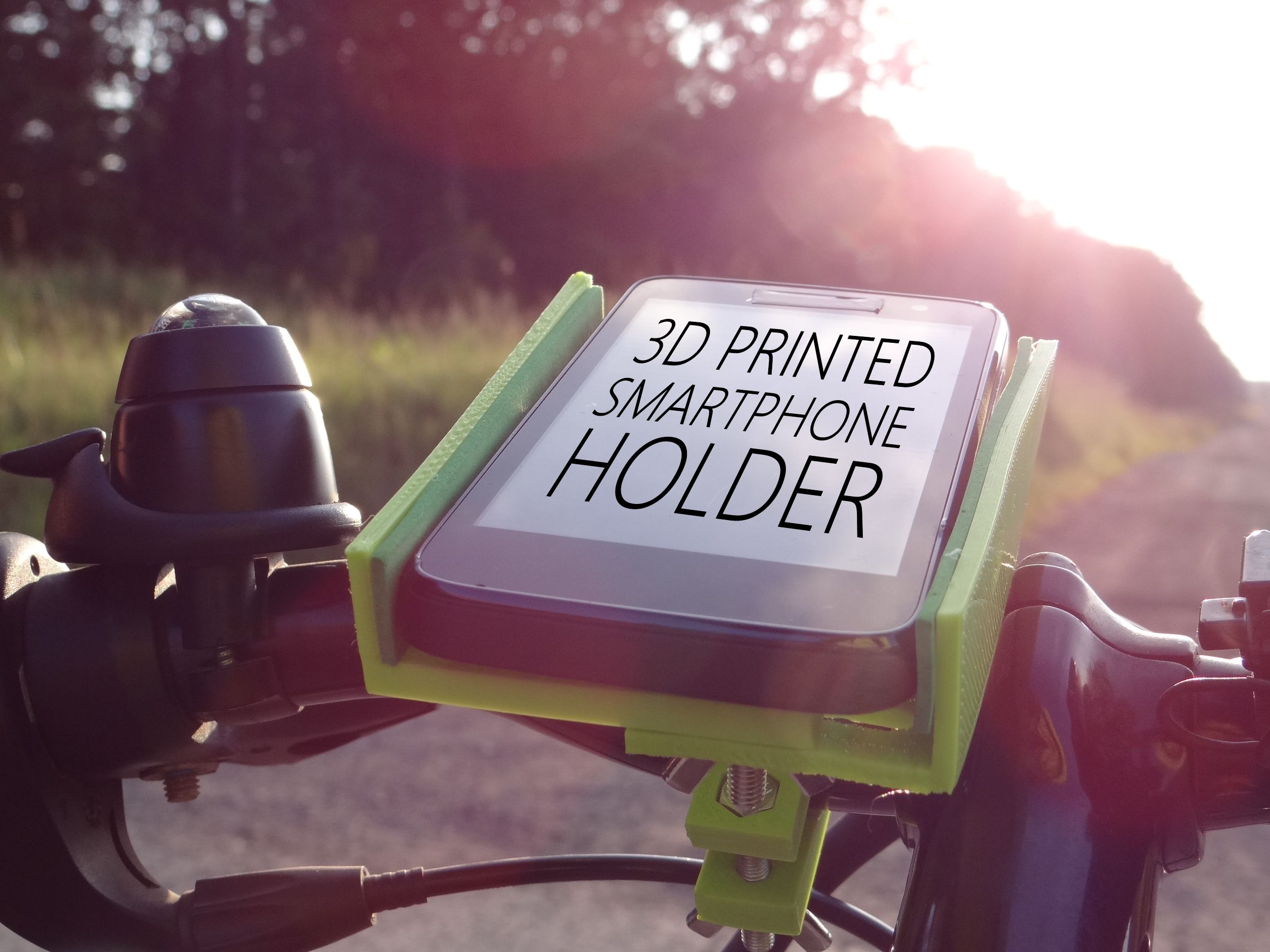 Picture of 3D Printed Smartphone Holder