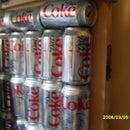 Cool Coke Wall Design