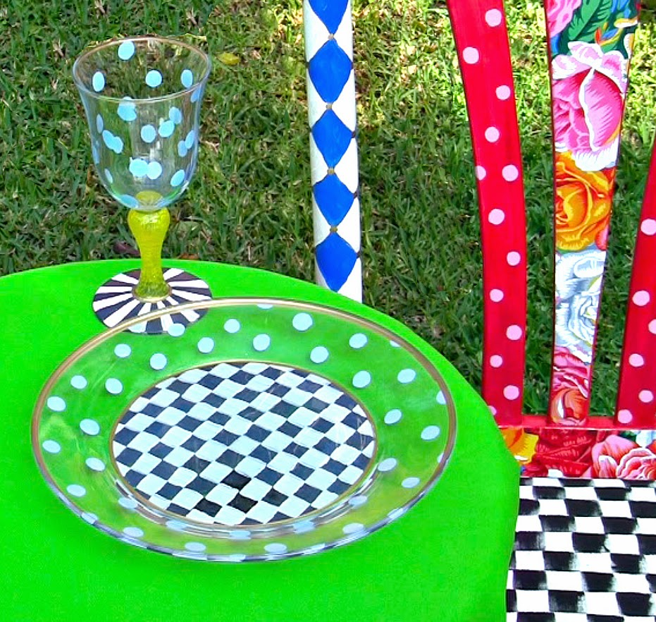 Picture of How to Permanently Paint Glass Dishes