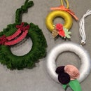 Mini Wreaths (with Upcycled Materials!)
