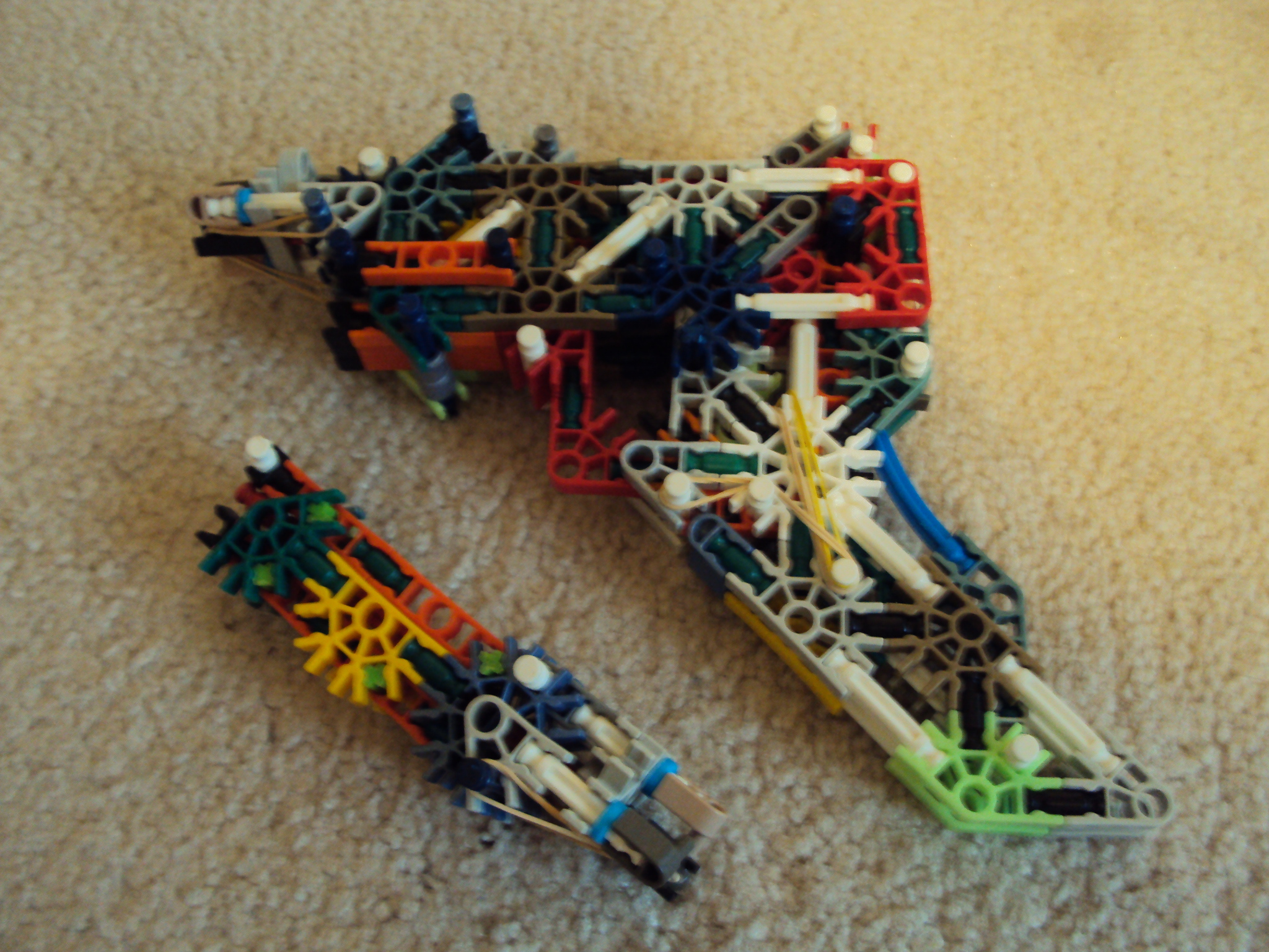 Picture of Knex Semi Auto Pistol With Removable Mag