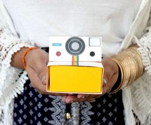 DIY: Cajita Camara Polaroid