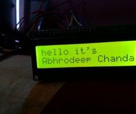 Wireless Notice Board (Bluetooth)