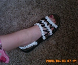 How to Make Paracord Foot Wear