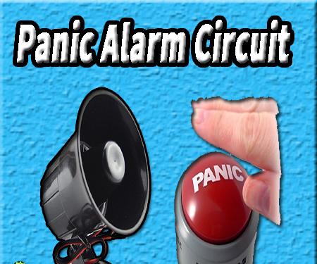 Panic Alarm | Panic Alarm Using 555 Timer | 555 Timer Circuit | Electronics Projects