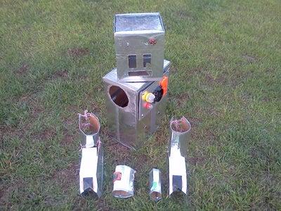 Day 3 Week 6...Explore Spectroscopes - the Robot's Body