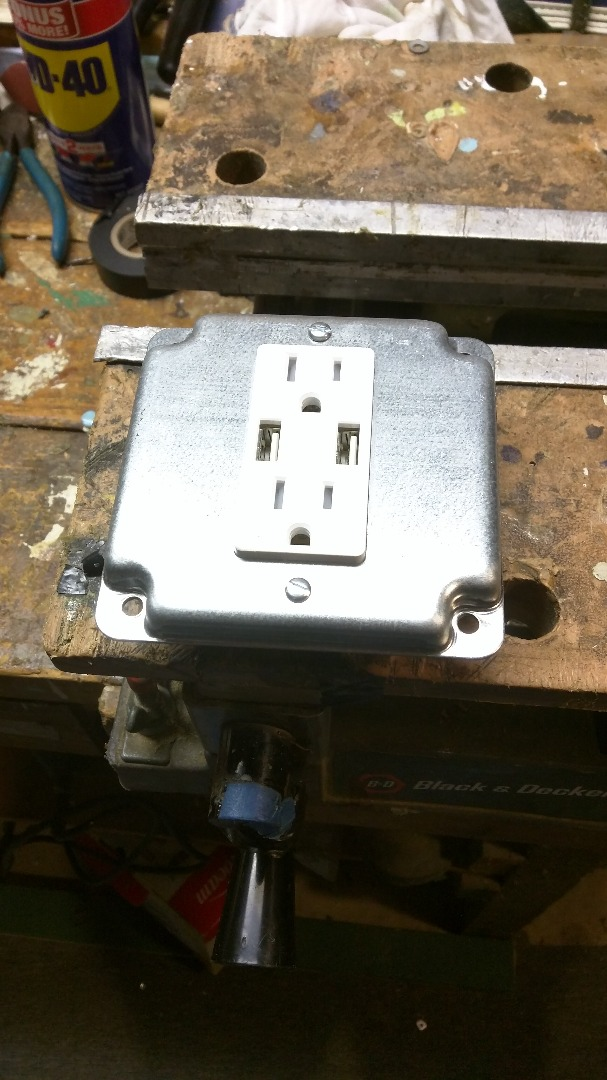 Picture of Modifying the Outlet