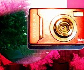 infra red camera conversion (night v/ xray) etc