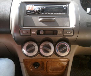 How to Remove Stereo From the Centre Console of Honda City (Dolphin Model)