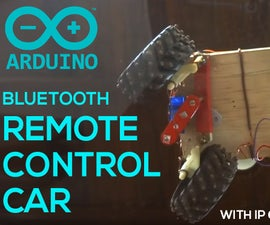 Bluetooth Arduino Remote Control Car RC