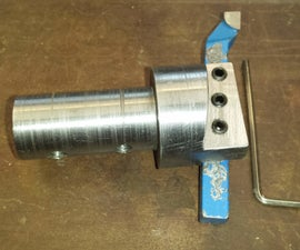 Homemade Fly Cutter - From Scrap Steel