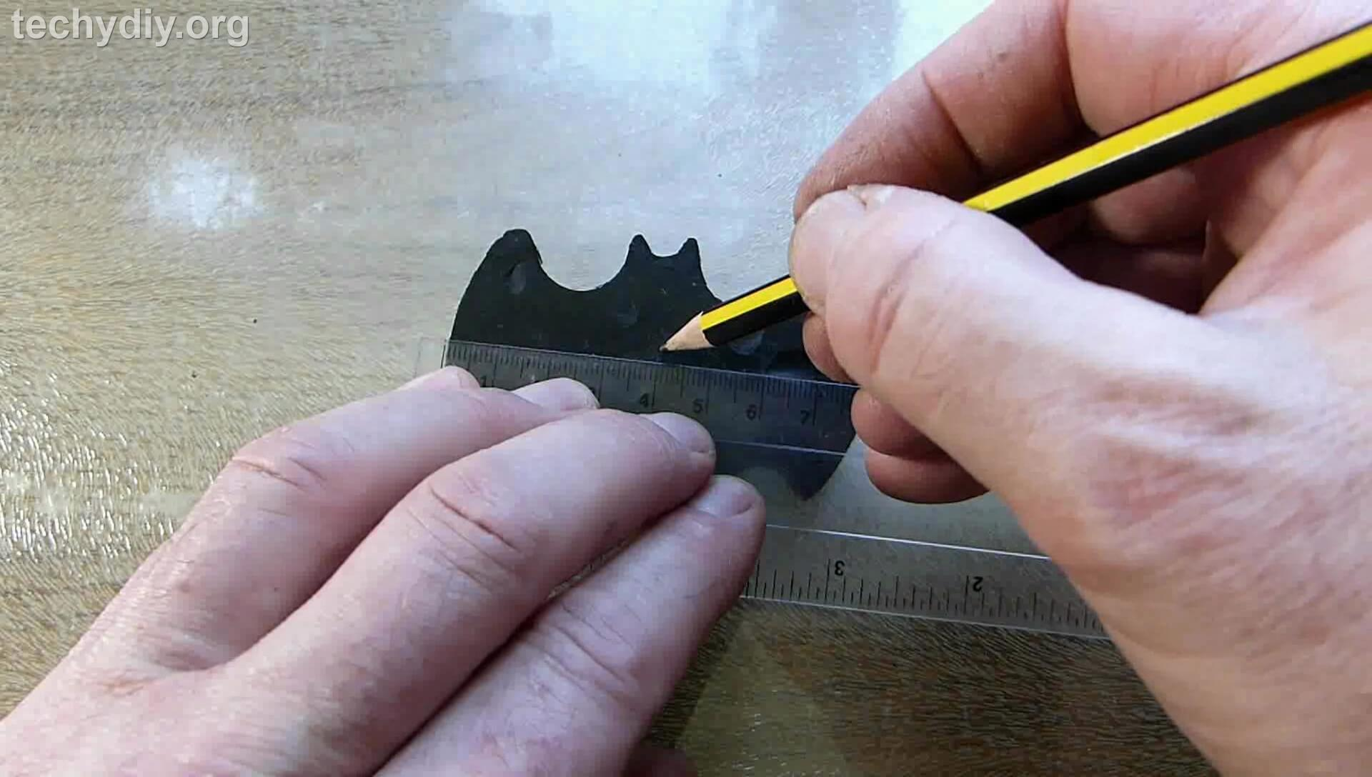 Picture of Drill a Hole in Batman