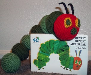 Amigurumi the Very Hungry Caterpillar