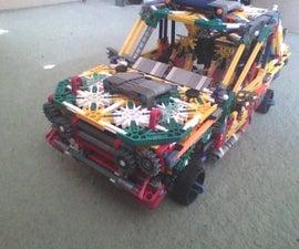 Realistic V4 Rally Car