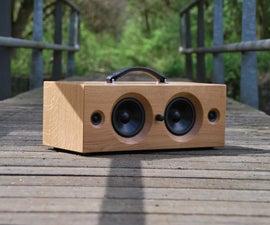 Homemade Portable Bluetooth Speaker