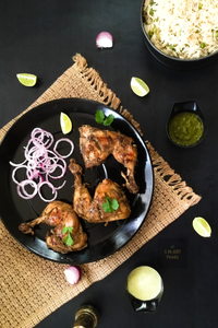 Barbequed Steamed Chicken