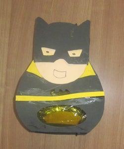 Cut  Shoulders, Belt of Batman Like the Picture