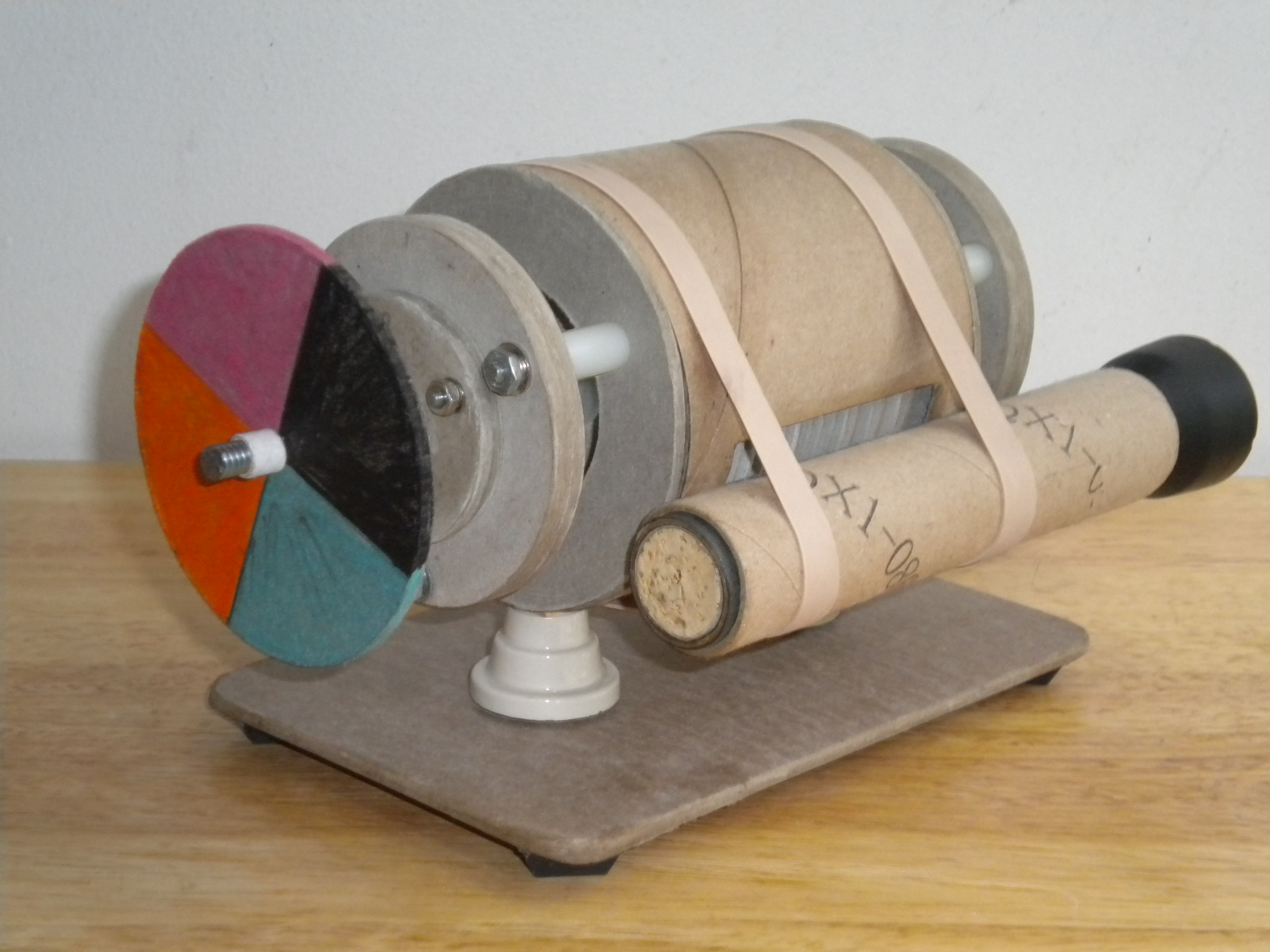 Picture of Machining a Mini Tesla Turbine From Cardboard