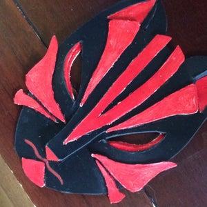 Leather Anime Style Mask