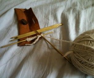Brass Knitting Needles