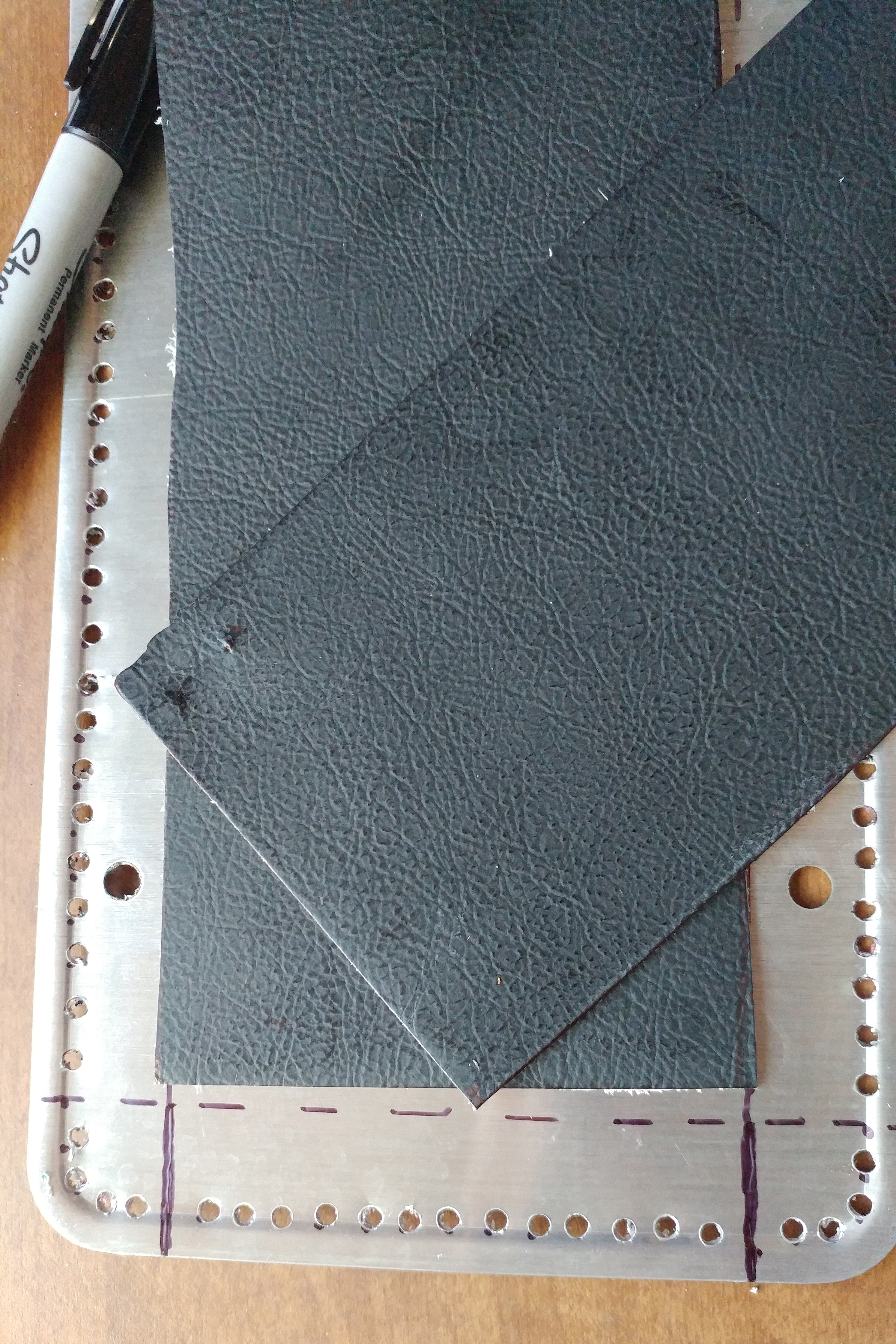 Picture of Make Some More Rectangle Pieces of Leather