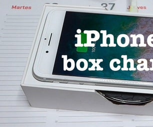"""""""Charging Box Base"""" for IPhone 8 Plus"""
