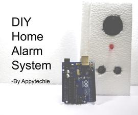 DIY Home Alarm System Using Arduino