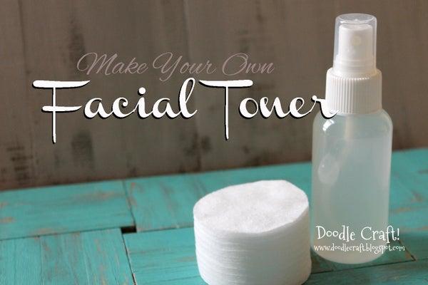 Homemade Facial Toner, Pore Reducer and Brightener!