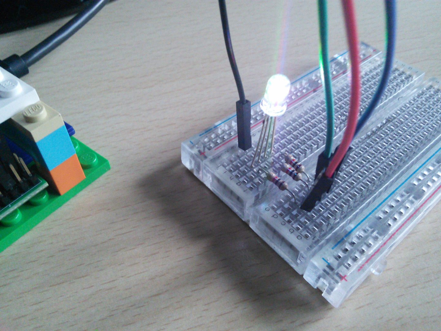 Picture of RGB LEDs