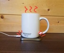 Wirelessly Heated Mug
