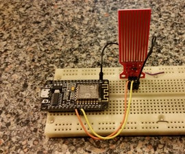 DIY ESP8266 WiFi Water Sensor With Text and Email Alerts