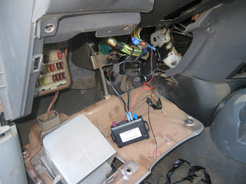 [DIAGRAM_38DE]  How to Remove a GPS Disabler From a Vehicle. : 6 Steps - Instructables | Imetrik Car Alarm Wiring Diagrams |  | Instructables
