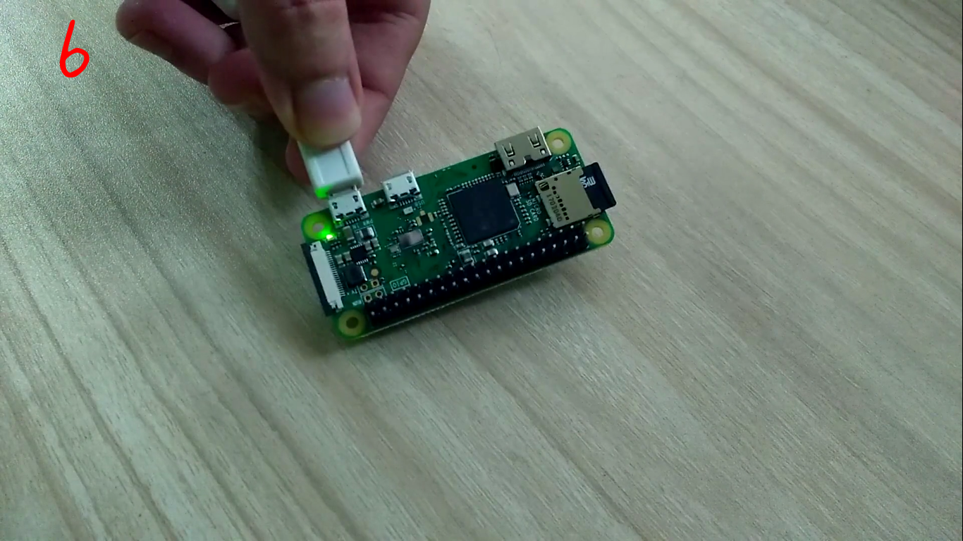Picture of Setting Up Raspberry Pi Zero W and First Access