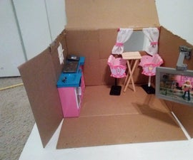 Doll Sized Kitchen.