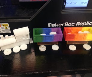 Toy Train Tinkercad/ 3Dprinting Lessonplan