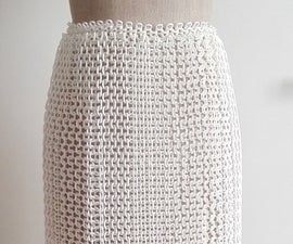 Wearable 3D print Skirt