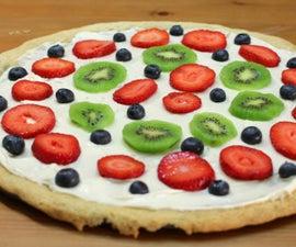 Easy Dessert Pizza
