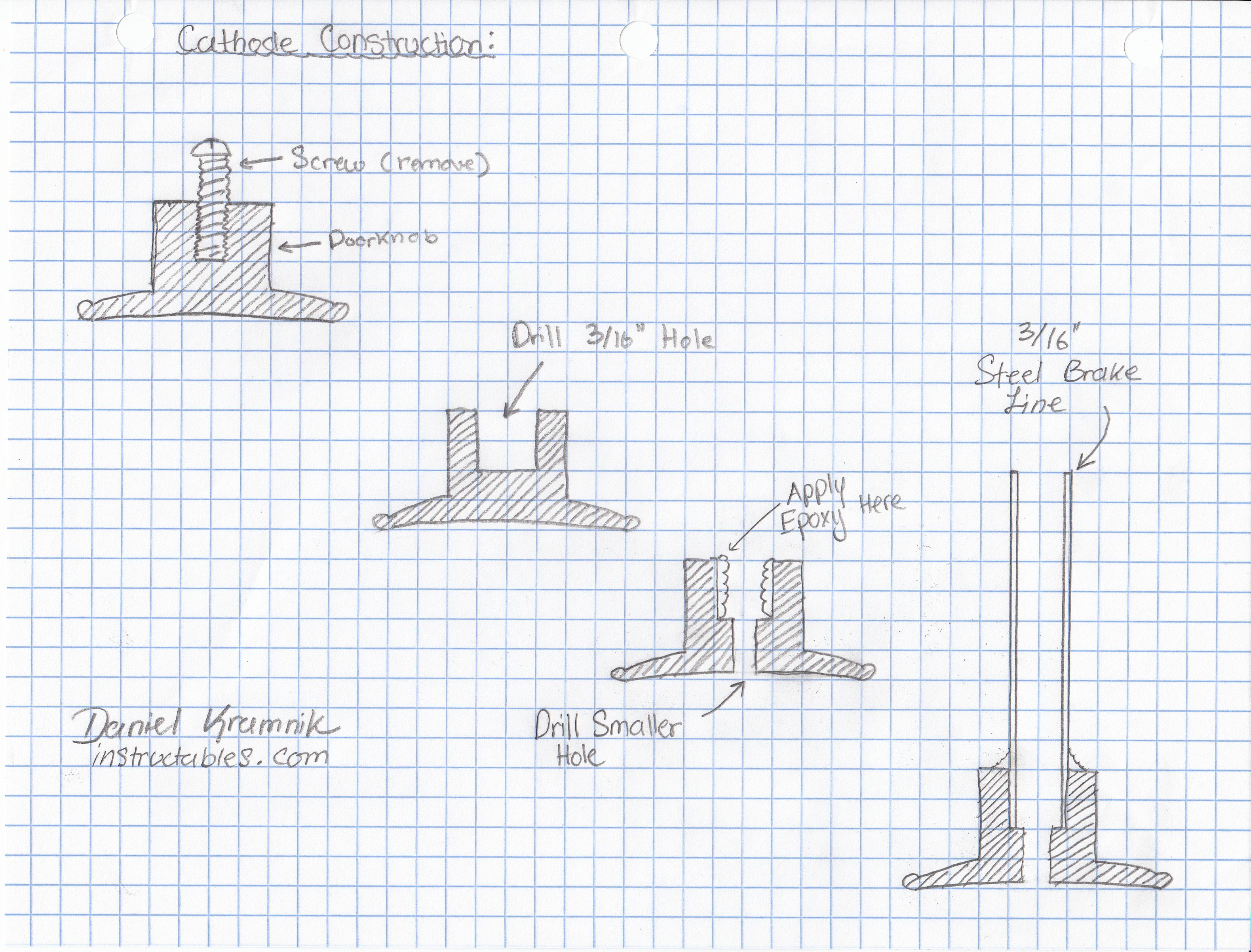 Picture of Build the Cathode/Vacuum Port