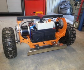 RC Robot tractor