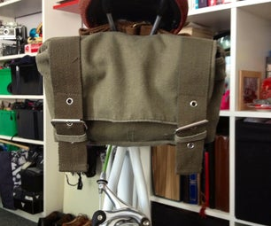 Vintage Style Bicycle Saddle Bag for Your Fixie or Single Speed
