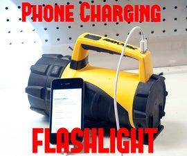 $10 LED Flashlight & Emergency Phone Charger