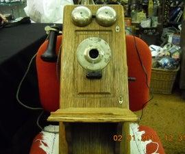 (2) Antique Crank Phone Hack