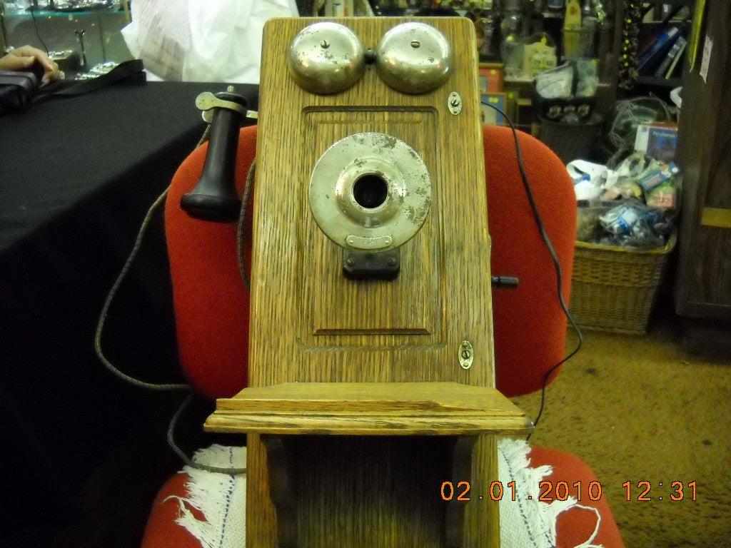 2 Antique Crank Phone Hack 8 Steps With Pictures Telephoneringer Telephonerelatedcircuit Electricalequipment