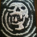 NIGHTMARE SKULL SANDPAINTING