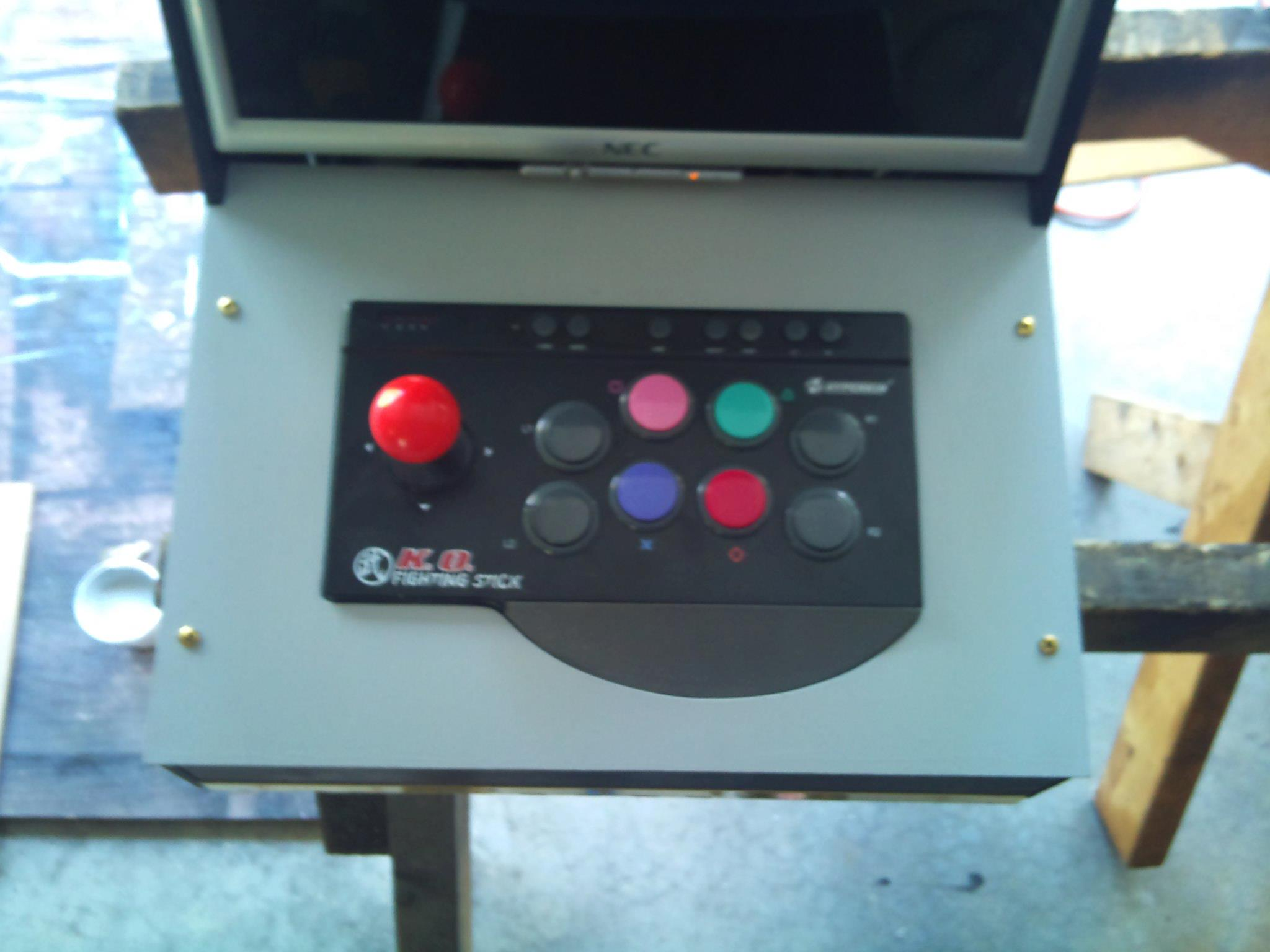 Picture of Joystick Pannel and Back Door