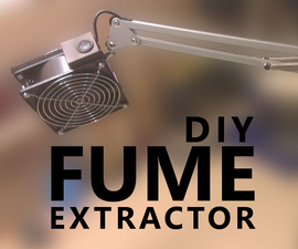 DIY Soldering Fume Extractor With Articulated Arm