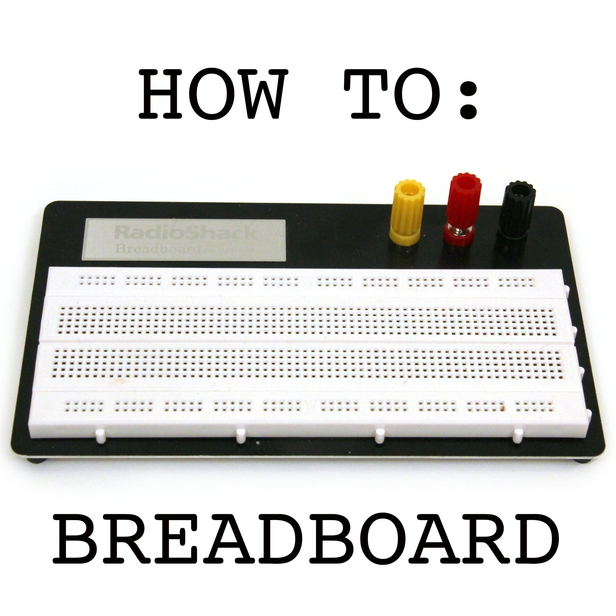 Breadboard How To 5 Steps With Pictures Power Supply Positivenegativeground From A Single