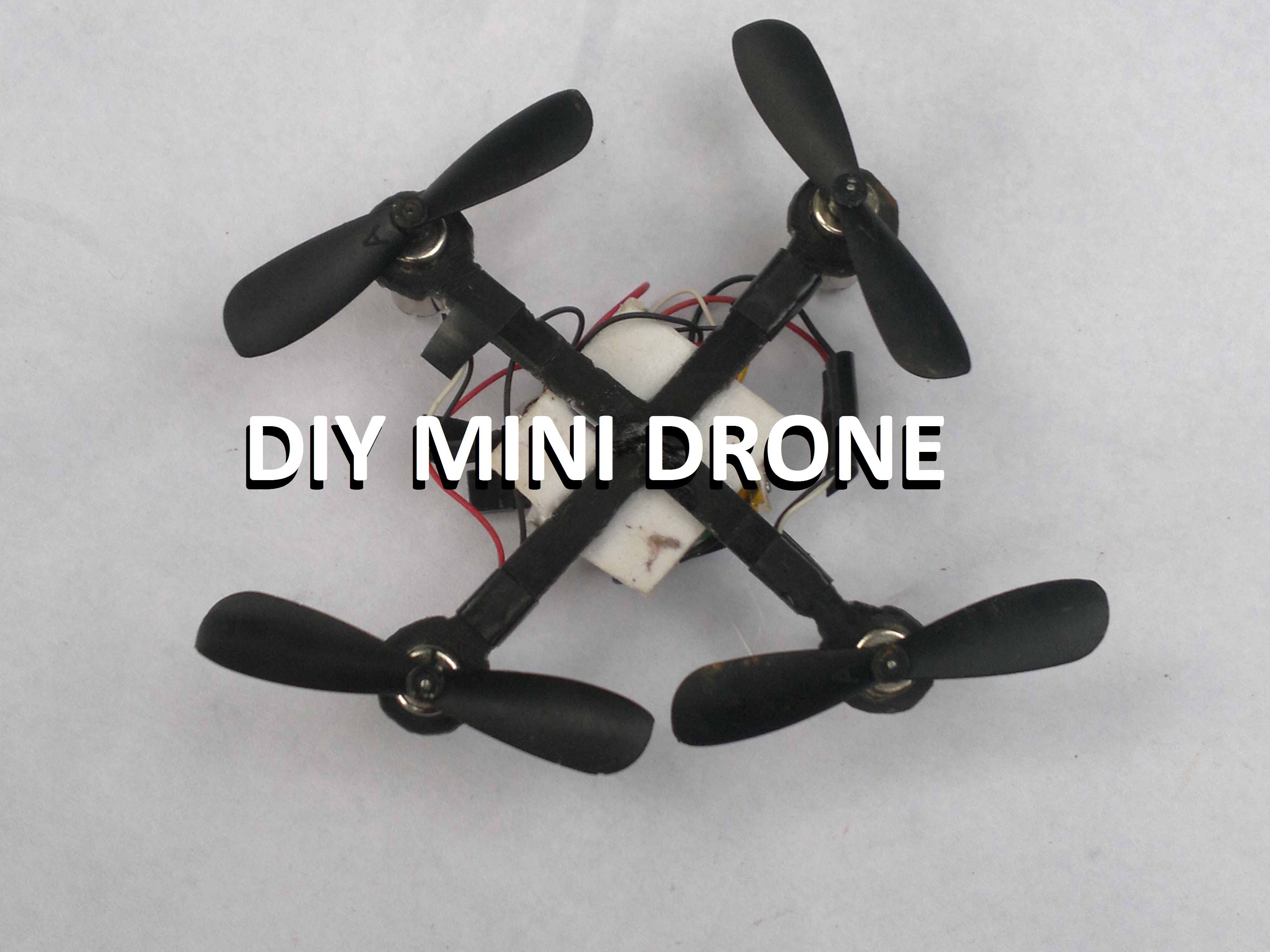 Picture of Make Mini Drone (Simple and Cheap)....!
